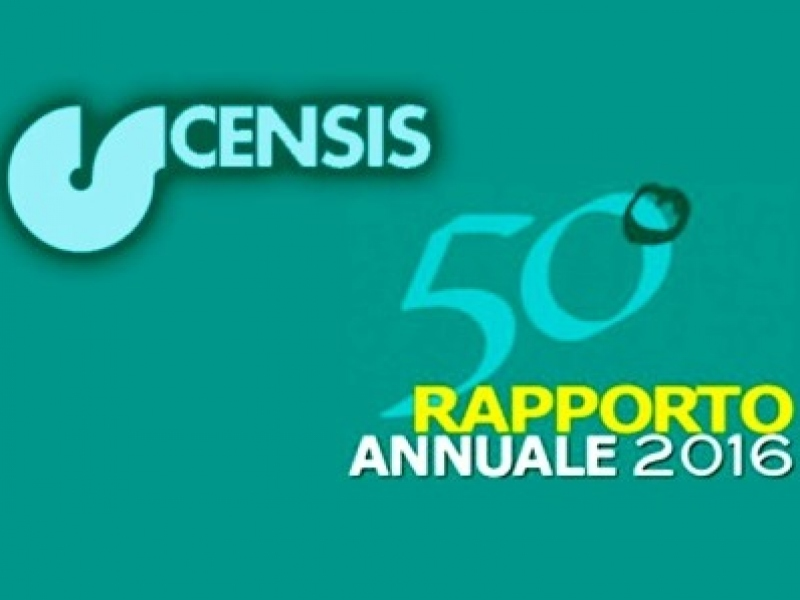 Rapporto CENSIS 2016